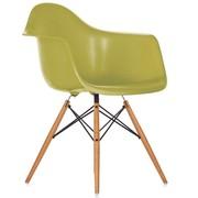 Кресло барное для кафе Тауэр Вуд,  цвет зеленый